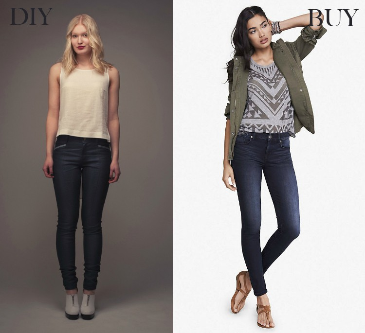 Legging jeans - buy vs diy