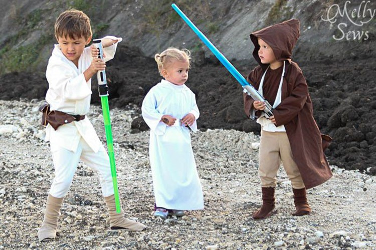 Kids Star Wars Costumes, Melly Sews