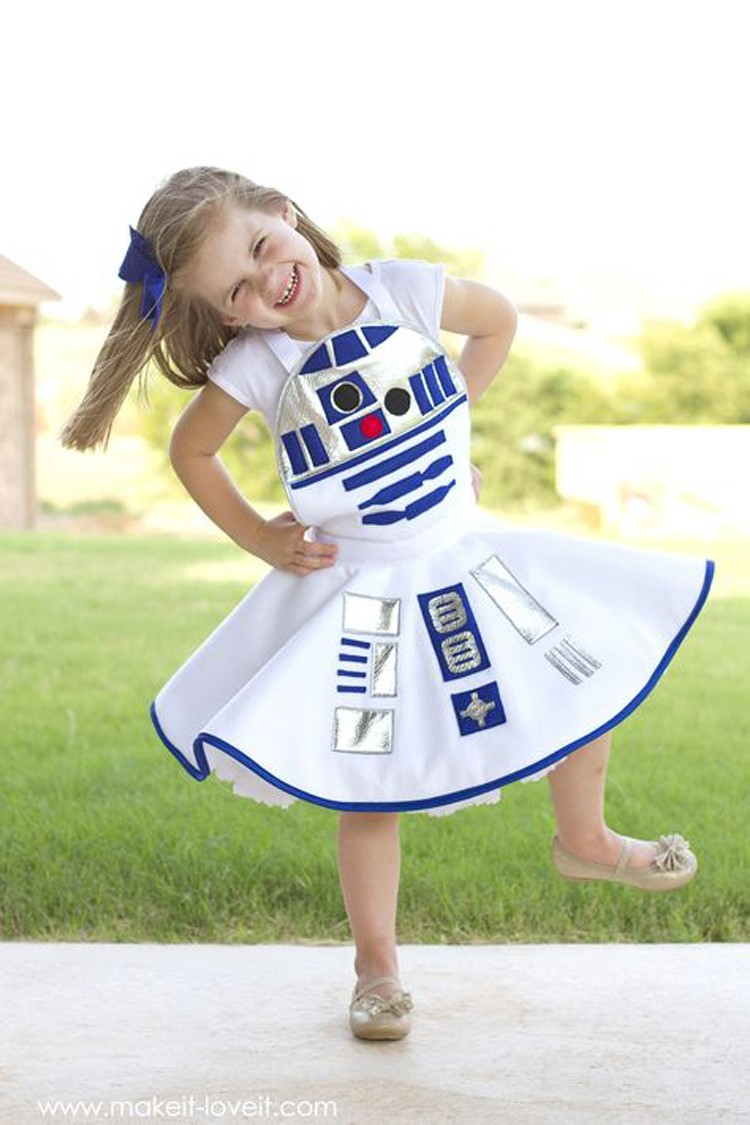 R2 D2 Dress Costume, by Make it Love it