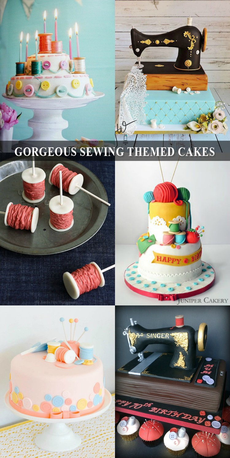 9 gorgeous sewing themed cookies, too beautiful to eat!!!