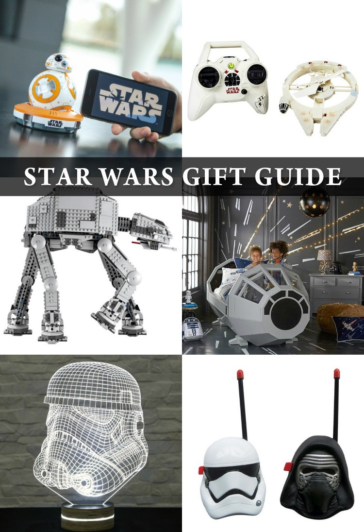 Star Wars Gift Guide      find the perfect present for the Star Wars lover in your life this Christmas