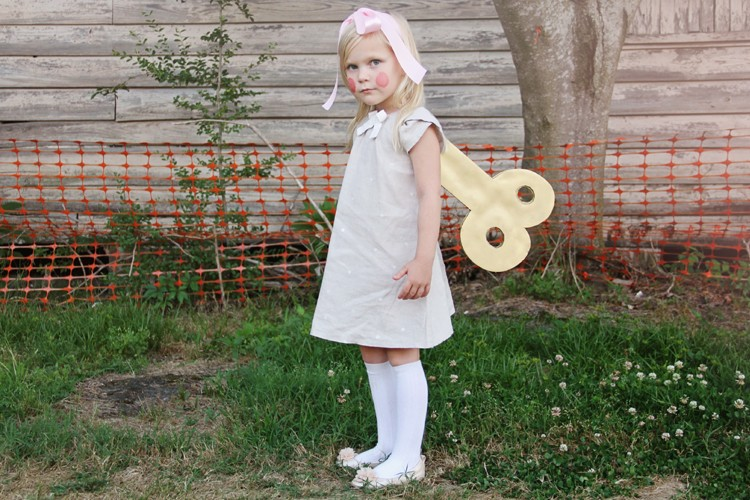 Wind Up Doll Costume DIY