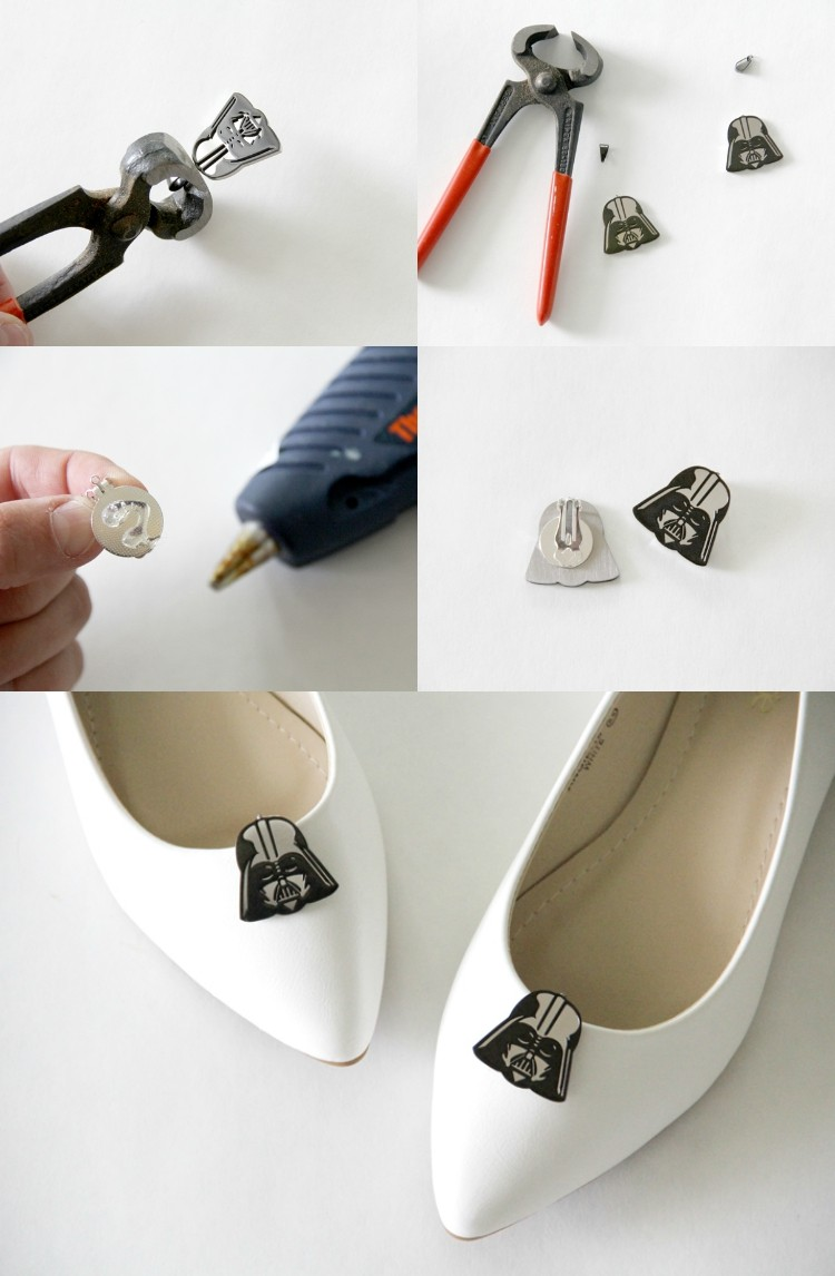 How to make Star Wars shoe clips