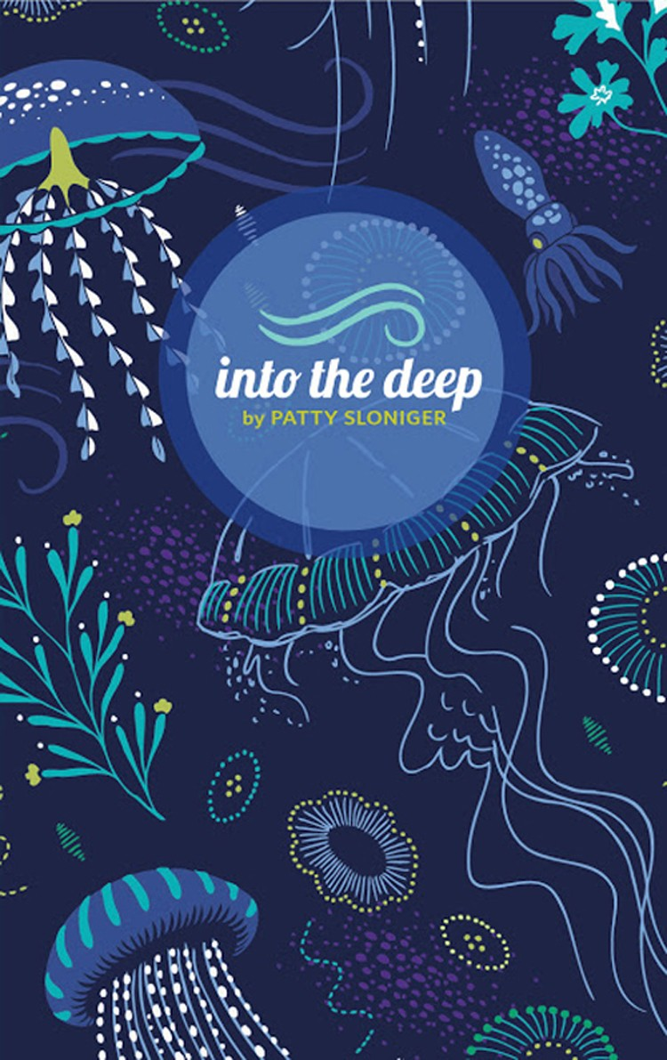 21 Days of Thanks \\  Michael Miller Fabric Patty Sloniger Into the Deep Bundle
