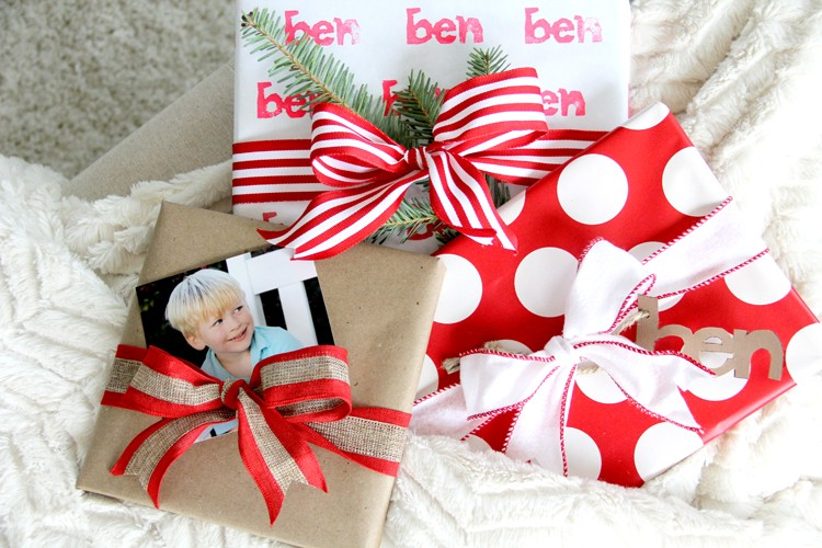 3 Ways to Customize your Christmas Wrapping