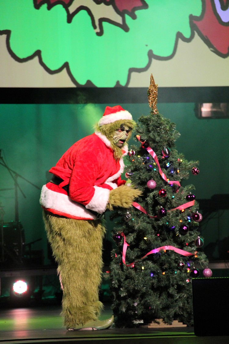 the Grinch that Stole Christmas play
