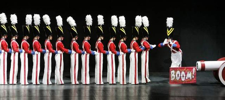 Radio City Christmas Hall, the Rockettes toy soldier