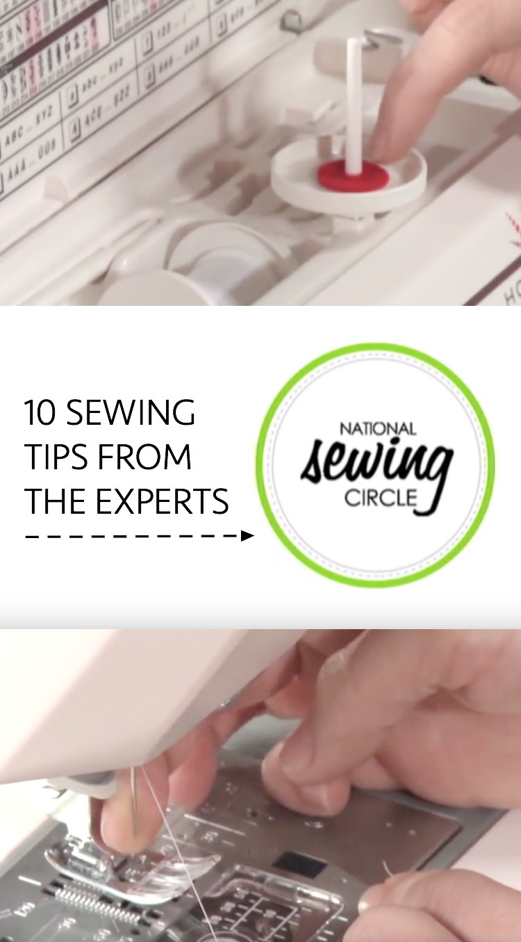 Expert sewing tips