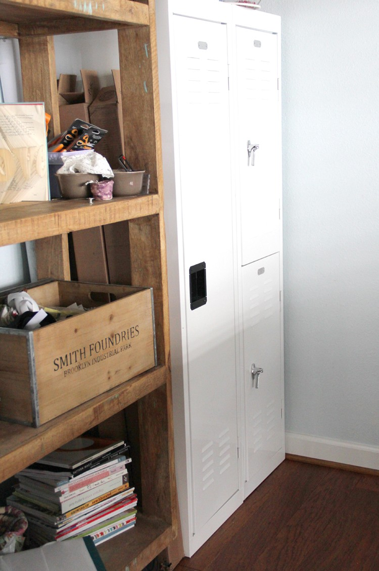 storage lockers for bulky fabric
