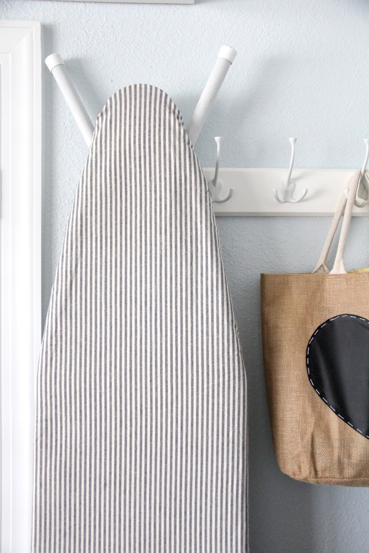 hang up your ironing board