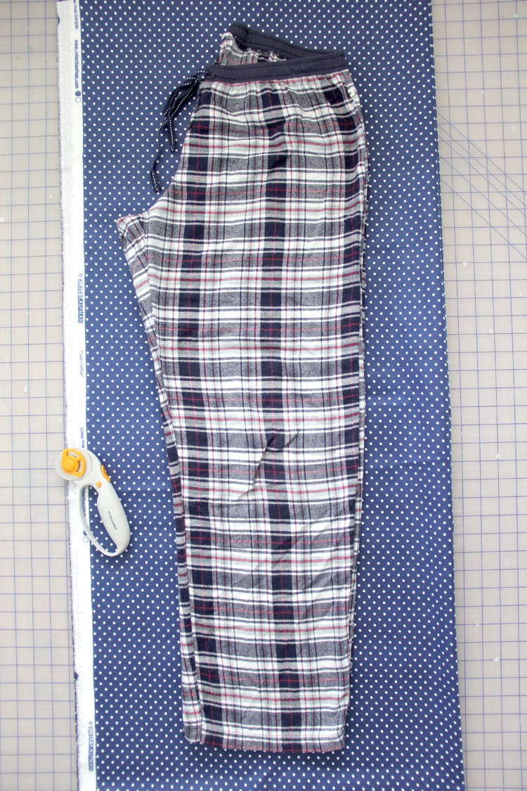 how to draft your own pajama pants