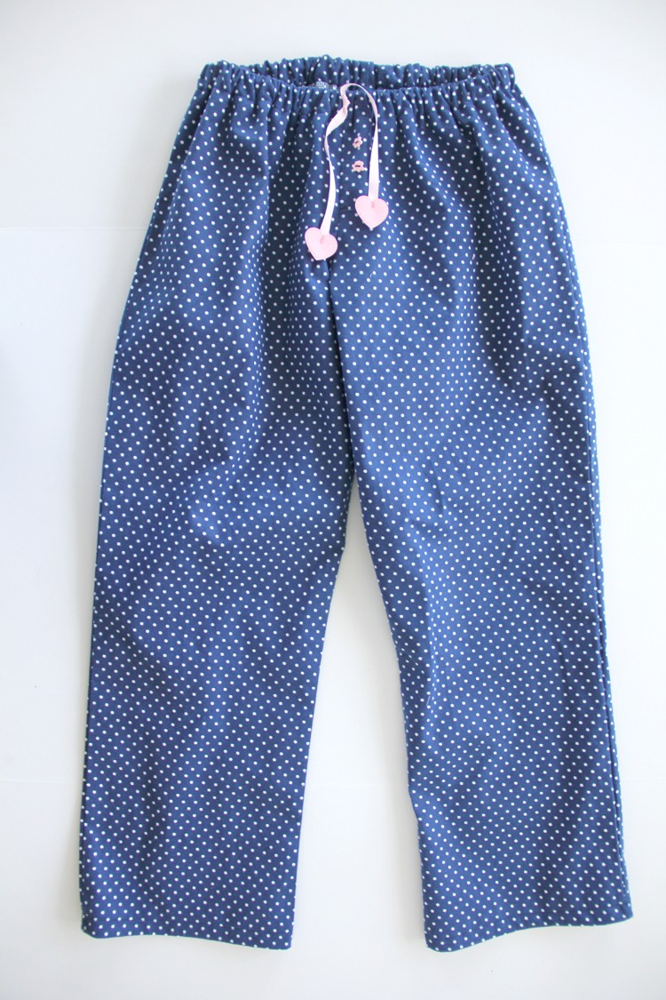 how to sew and draft your own pajama pants