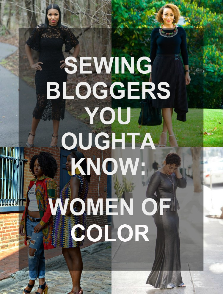 A list of amazingly talented sewing bloggers you should be following NOW