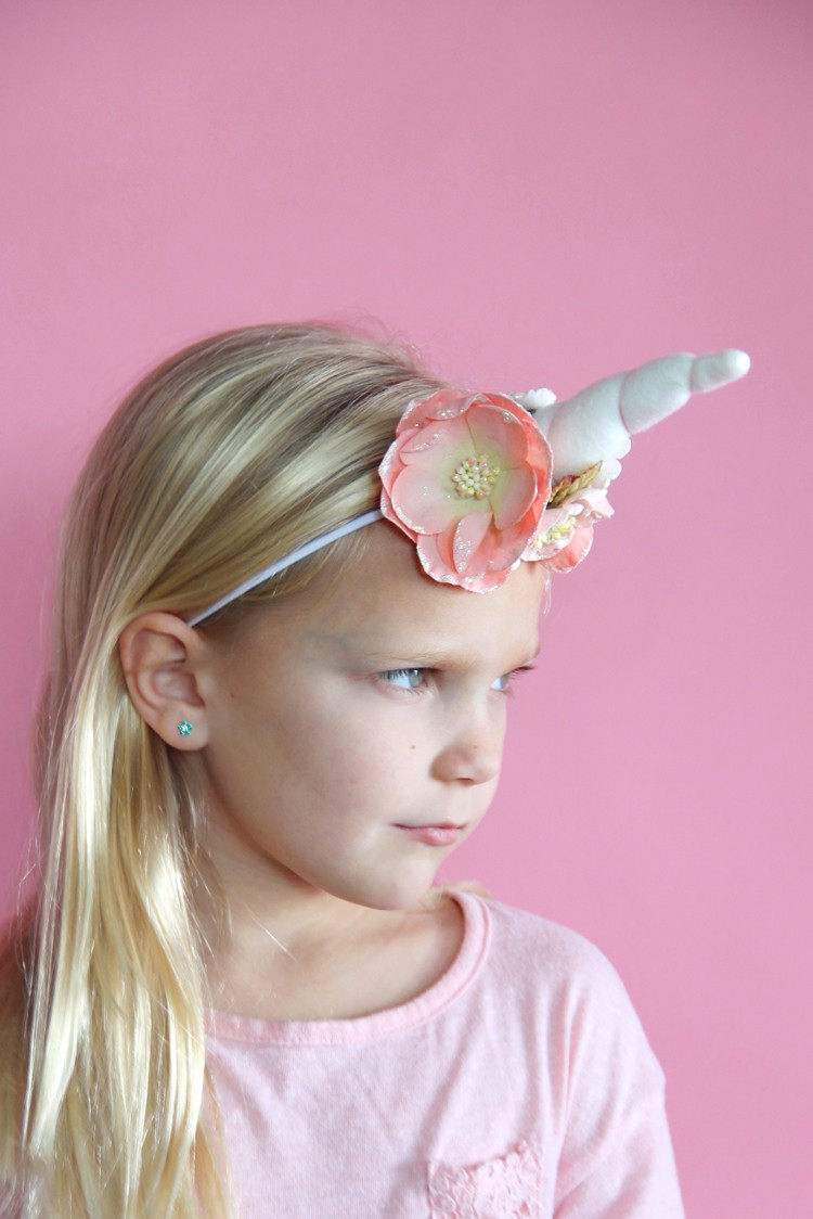 How To Make A Unicorn Headband Diy