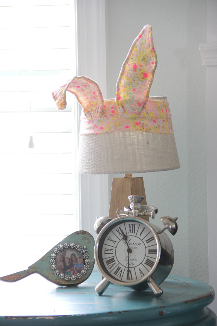quilted bunny ears - add to any lamp, chair back, pillow, or more!