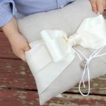 How to make a ring bearer pillow || ring bearer pillow DIY