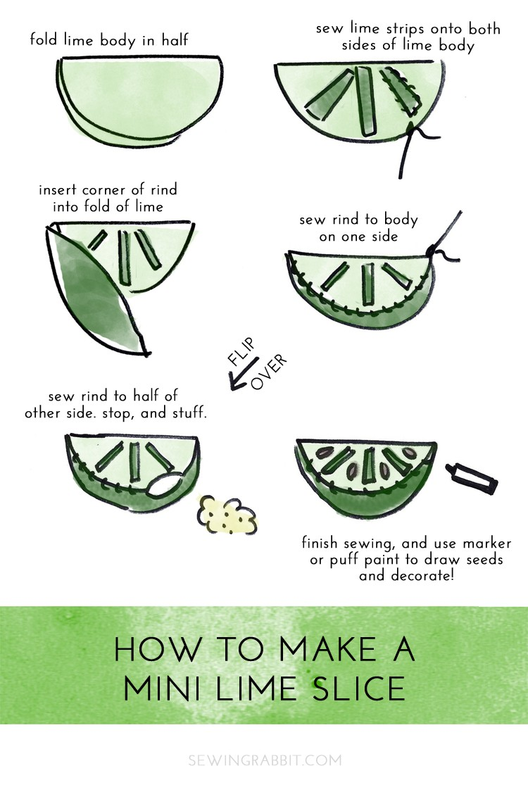 how to sew a lime