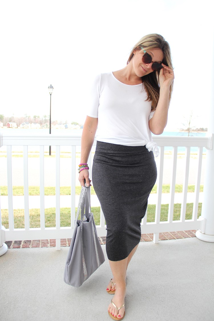 midi pencil skirt diy the sewing rabbit