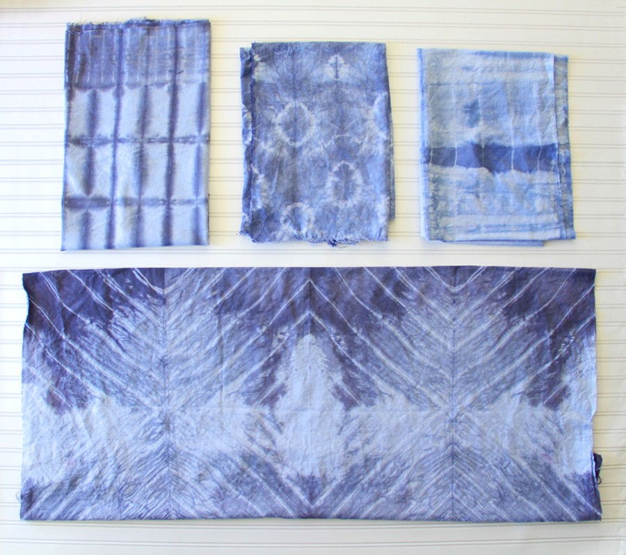 shibori inspired tie dye technique