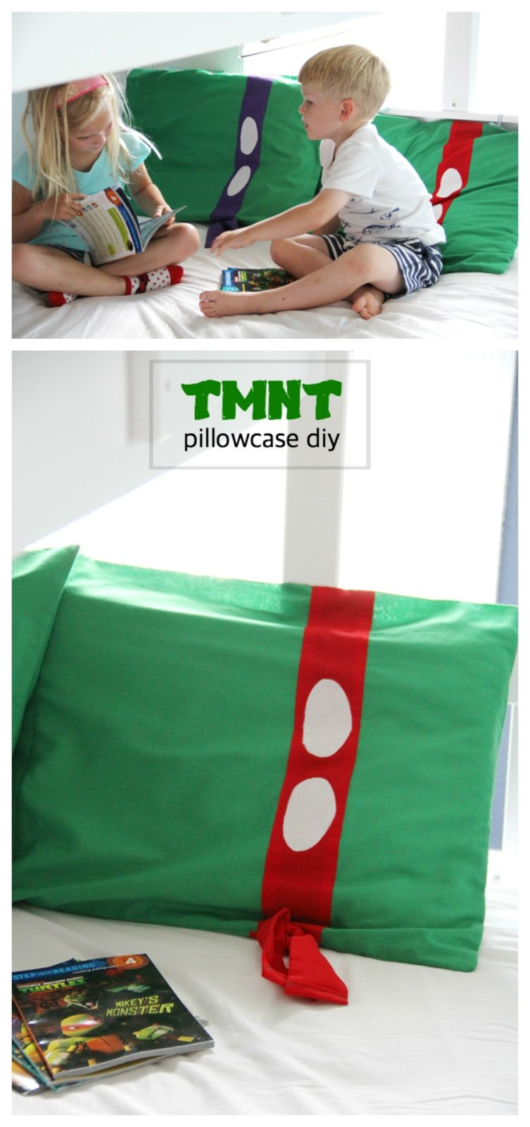 TMNT pillowcases