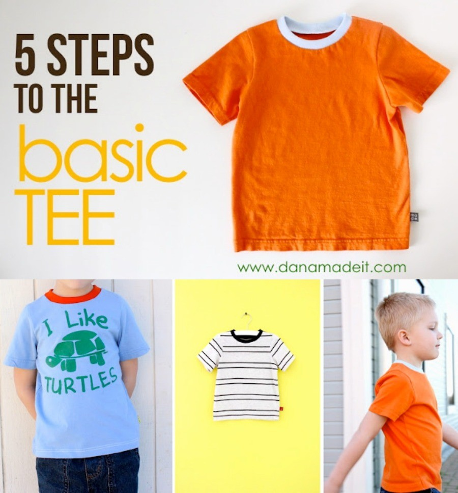 How to make a basic T Shirt