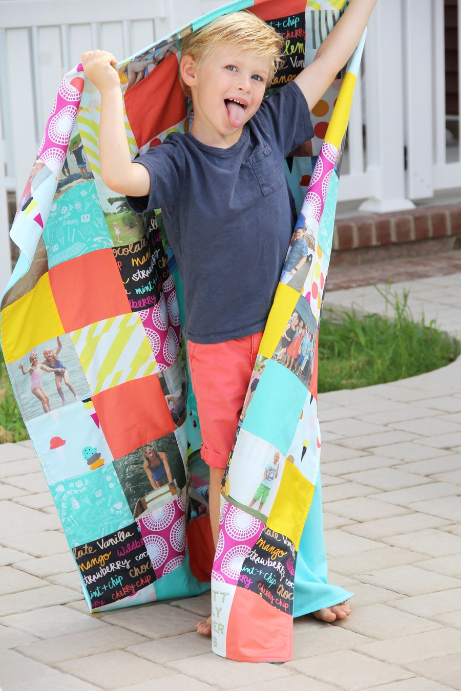 how to make a summer memory quilt