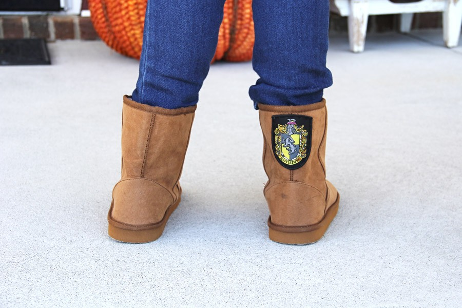 how to add patches to your boots  ||  boot patch DIY