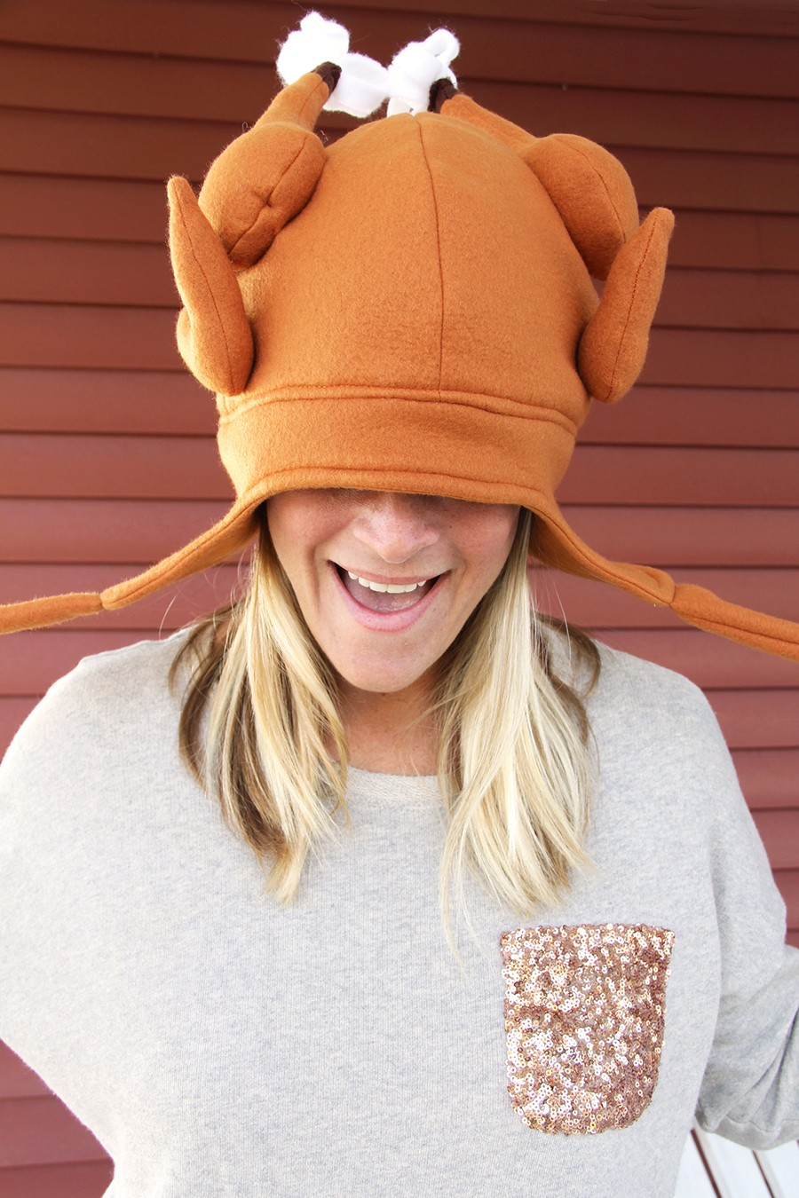 turkey hat pattern - silly hat for Thanksgiving!