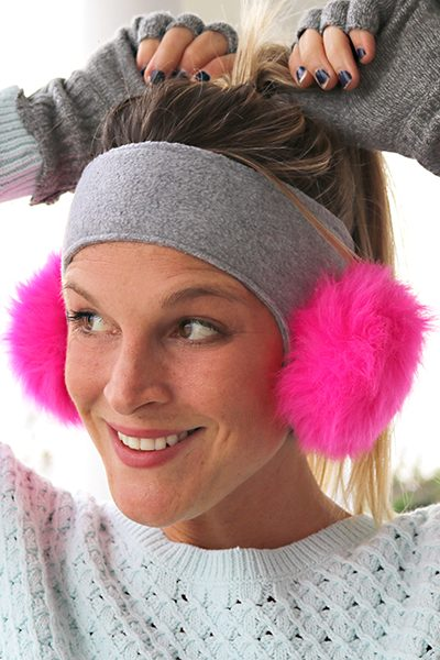 Pom Pom Ear Warmer Pattern