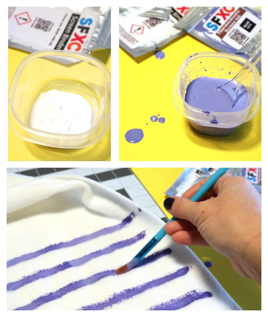Paint with thermochromic paint