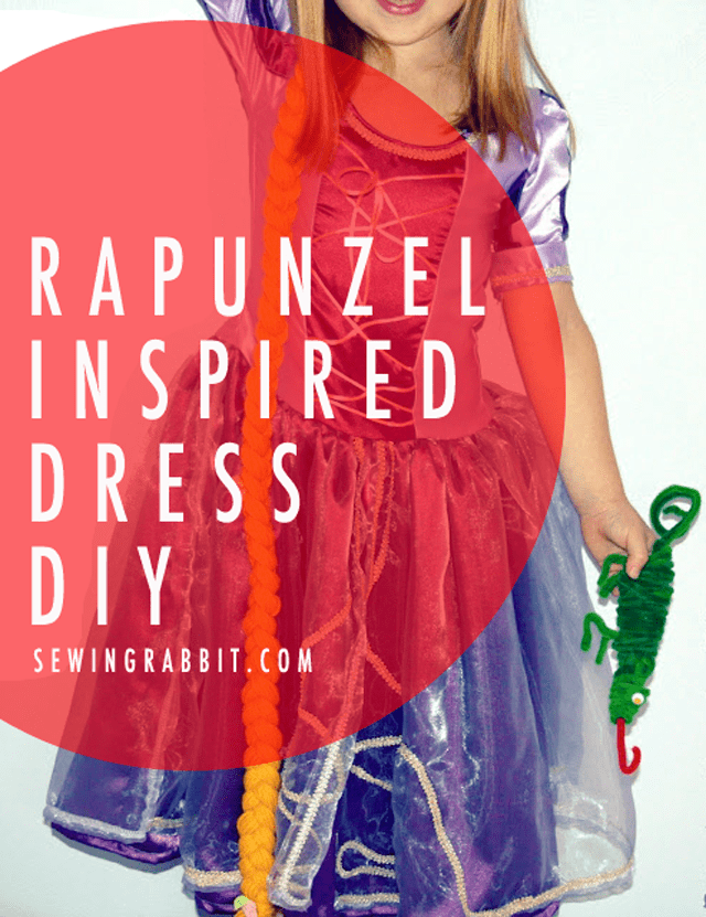 Rapunzel Dress Sewing DIY