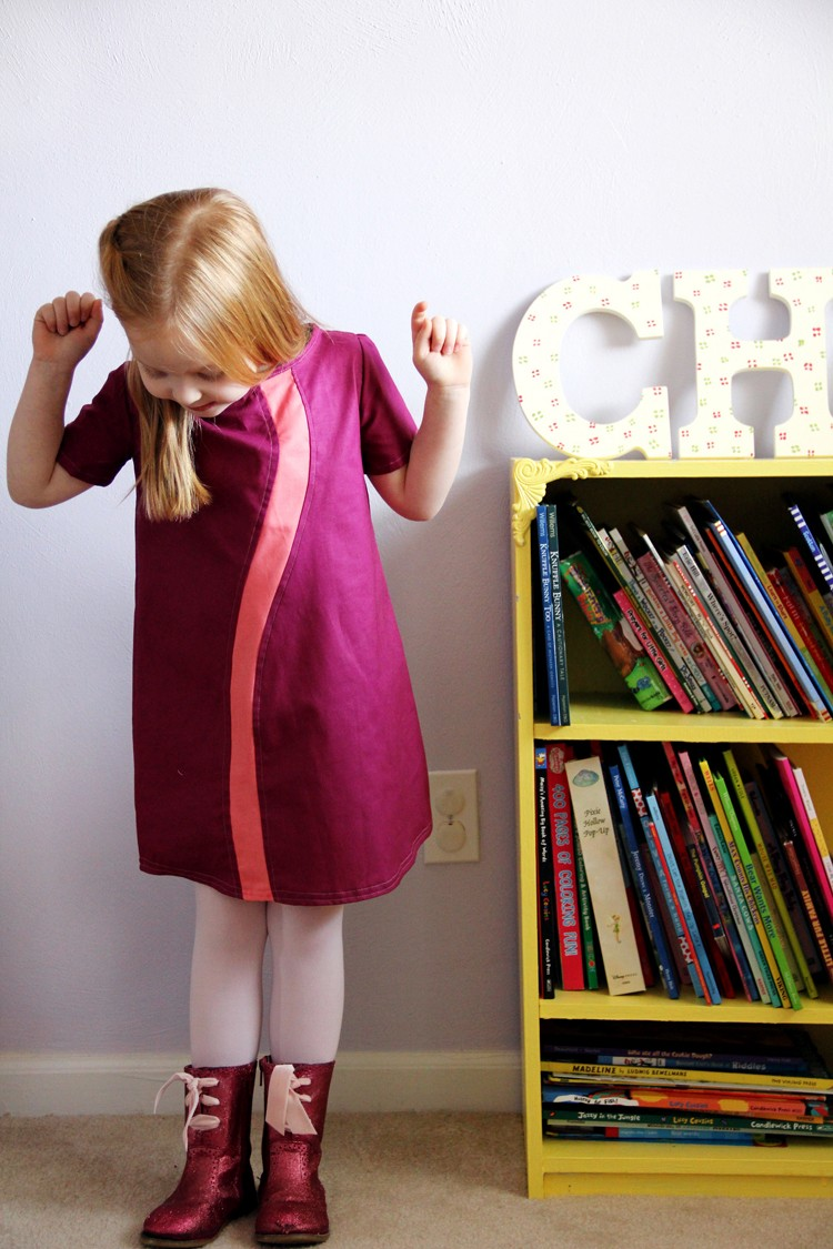 DIY Wavy Tunic with FREE Pattern