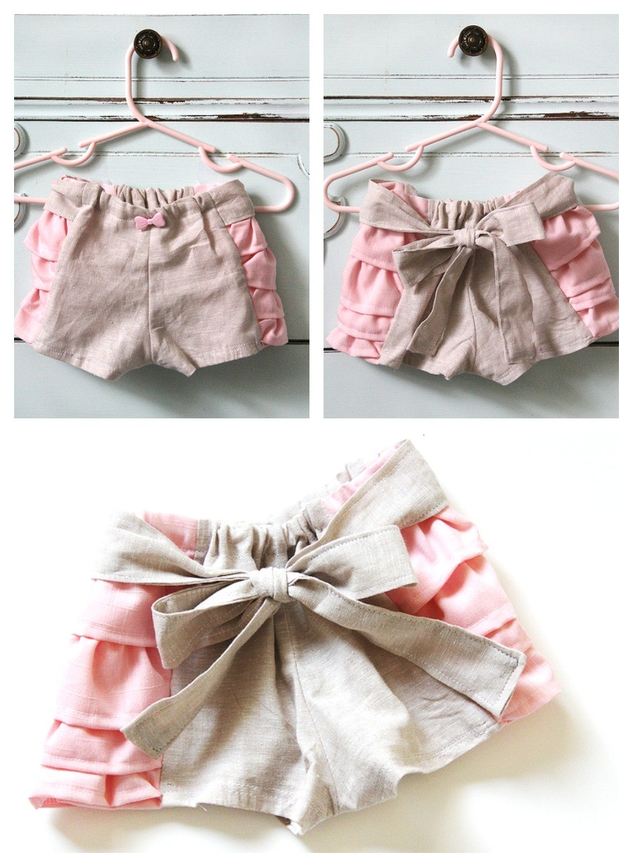 Ruffled Bloomers Pattern and Tutorial... - The Sewing Rabbit Ruffle Designs