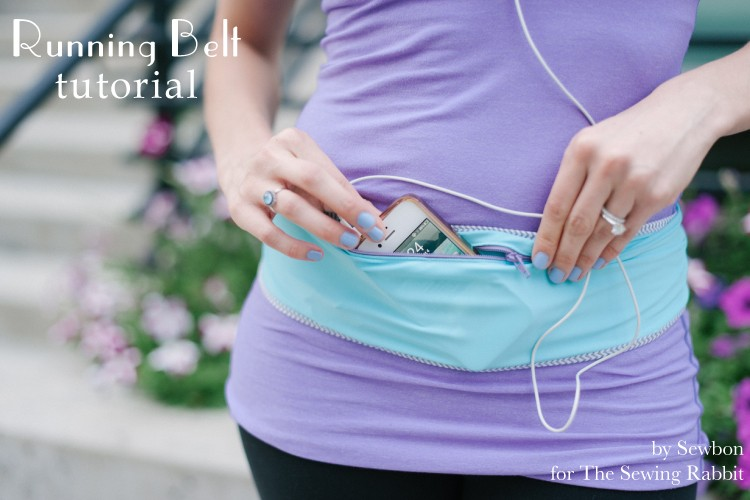 Running Belt Tutorial  ||  Erin of the Sewing Rabbit Team DIY