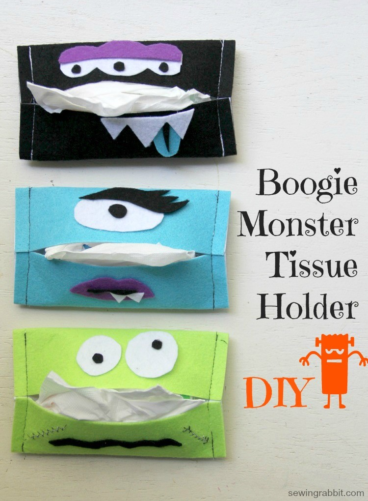 Boogie Monster Tissue Holder DIY