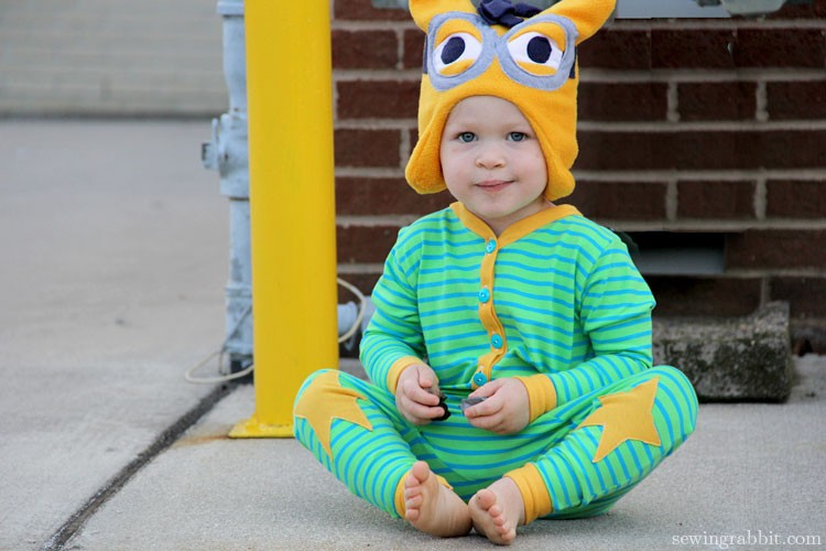 Minion Hat  & self drafted PJs ||   sewingrabbit.com