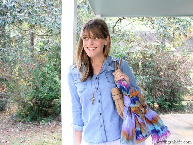 Scarf Purse Accessory  || 10 Things you can do with Scarves