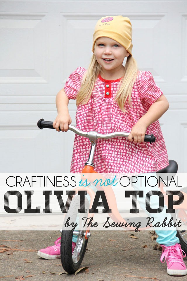 Scandinavian Style Sewing Series - Olivia Top Pattern  ||  sewingrabbit.com