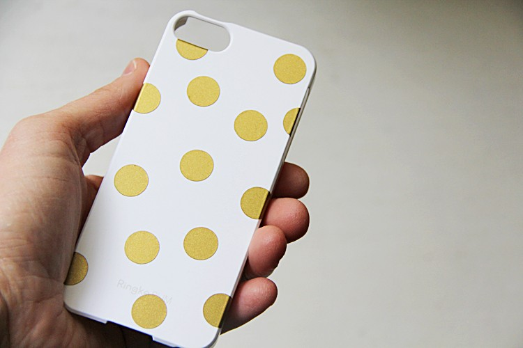 DIY Vinyl iPhone Case