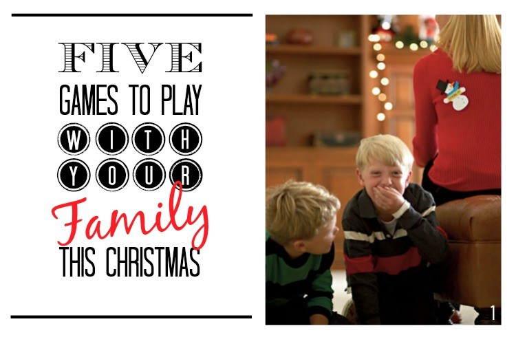 5 Games to Play with your Family this Christmas