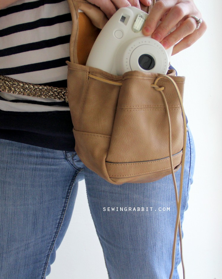Easily Attach your purse to any belt - a modern day fanny pack!