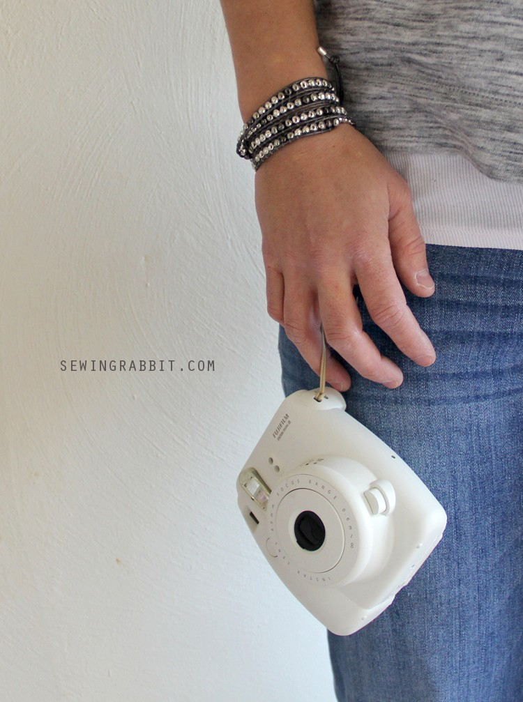 Turn any wrap bracelet into a camera strap / wristlet