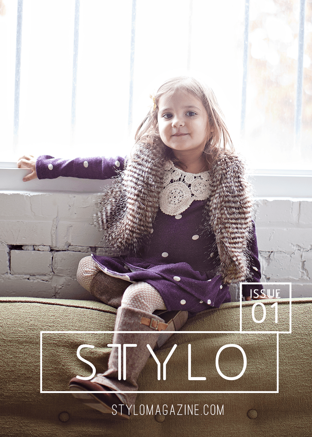 STYLO - brand new modern Kids Sewing Pattern Magazine