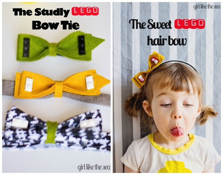 Dress Up With Lego - Lego Bows & Bow Ties