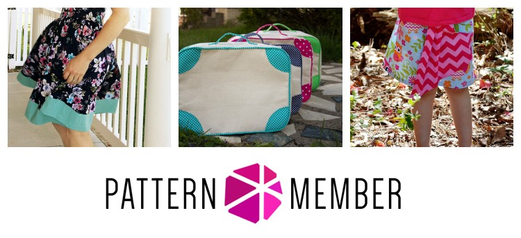 Pattern Member May 2014 - get 3 patterns every month for just $10