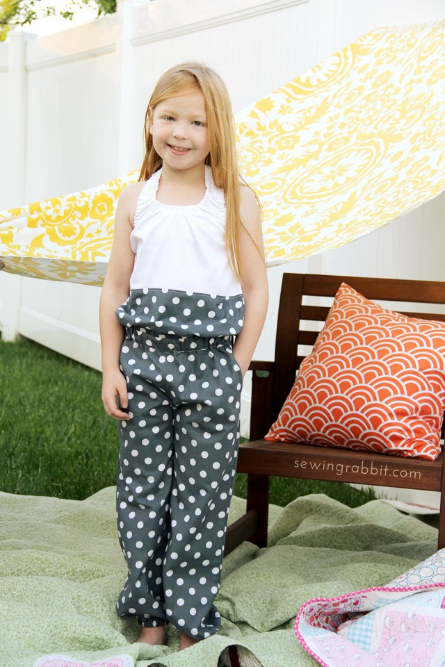 The Ash Jumpsuit Pattern - Willow & Co. - sewingrabbit.com
