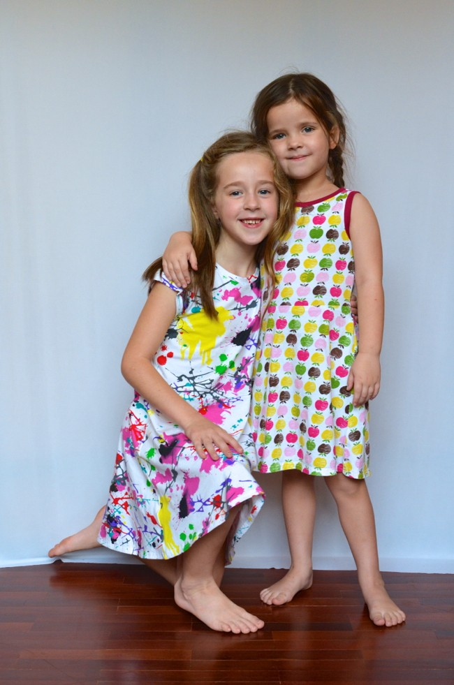 Image via: Crafterhours, Little Girl Skater Dress ePattern: sizes 18mo thru 8yr