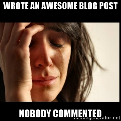 Death of the Blog Comment