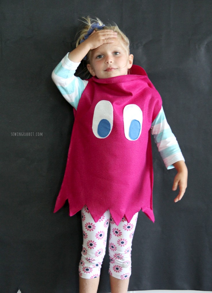 Pac-Man Ghost Costume DIY