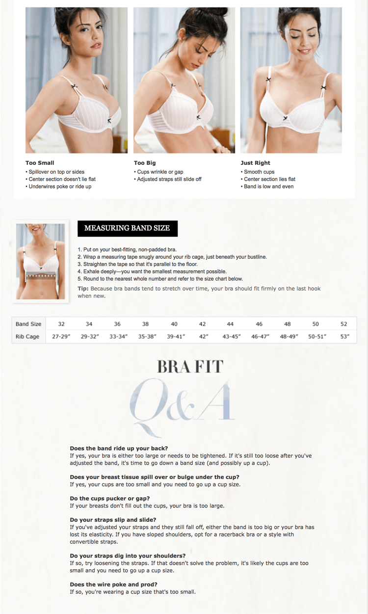 How to get the Proper Bra Fit